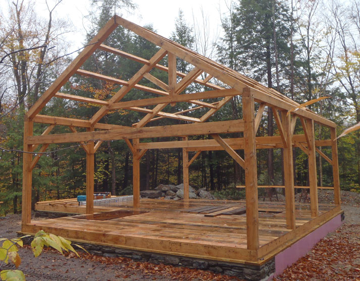 Monitor timber frame barn plans free joy studio design A frame barn plans